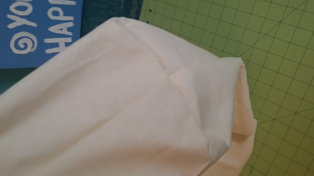 Do this entire process for your lining piece as well