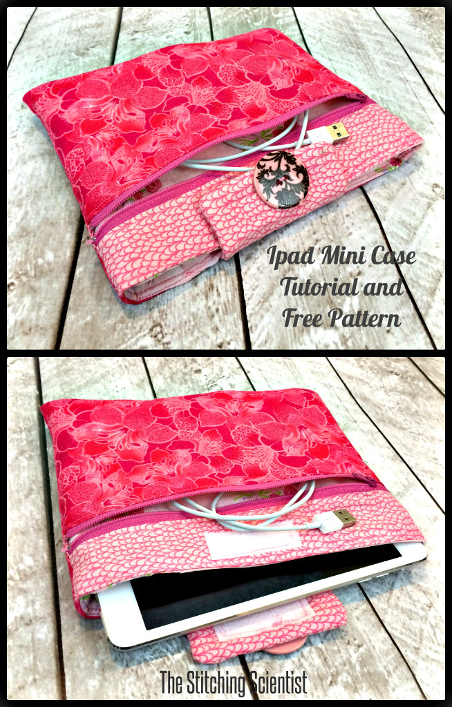 Ipad Mini Case Tutorial with Free Pattern