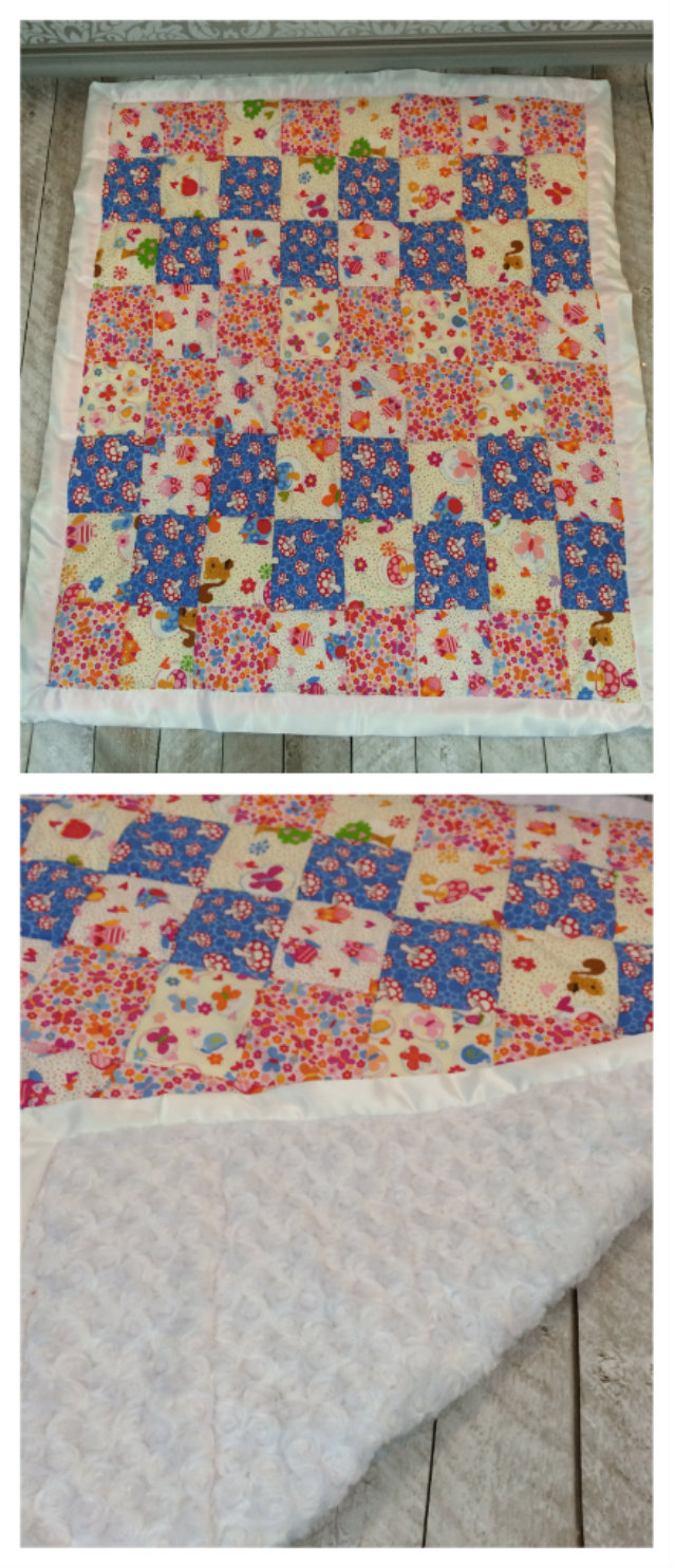 Baby Silky Soft Cuddle Quilted Blanket