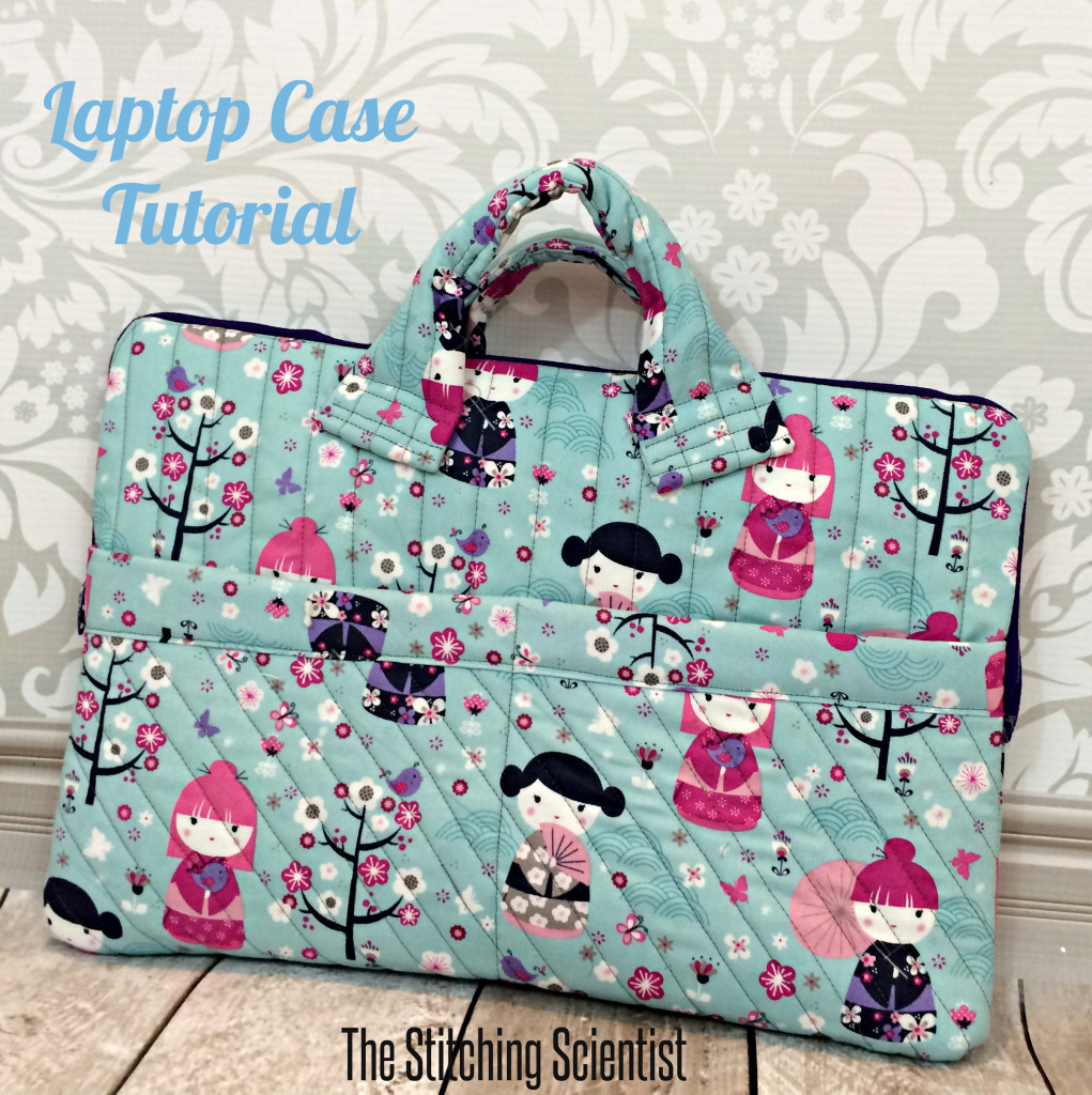 Bag Patterns: Quilted Laptop Case