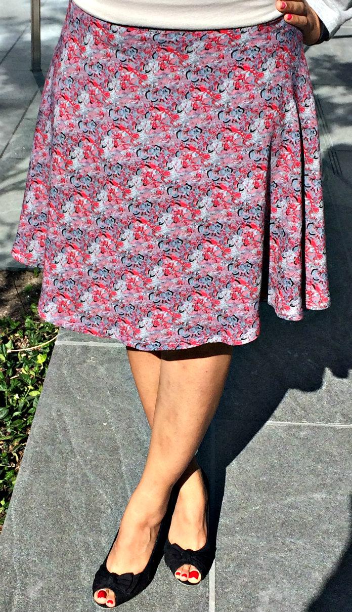 How to make a half circle skirt