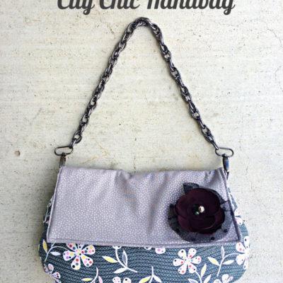 City Chic Handbag with Free Pattern