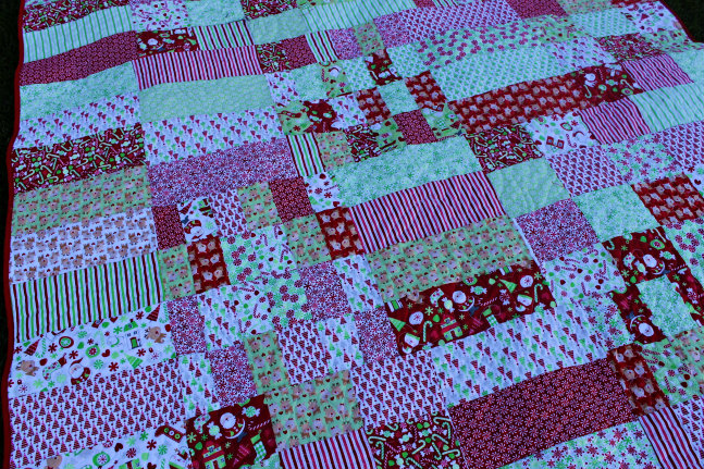 holiday quilt 2