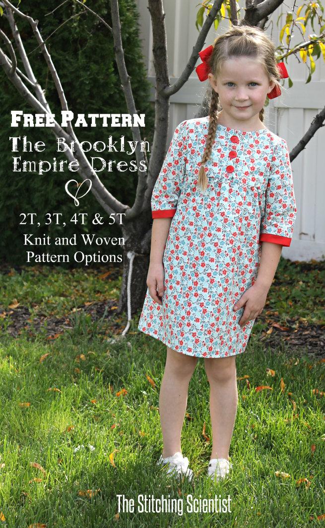Free Pattern The Brooklyn Empire Dress