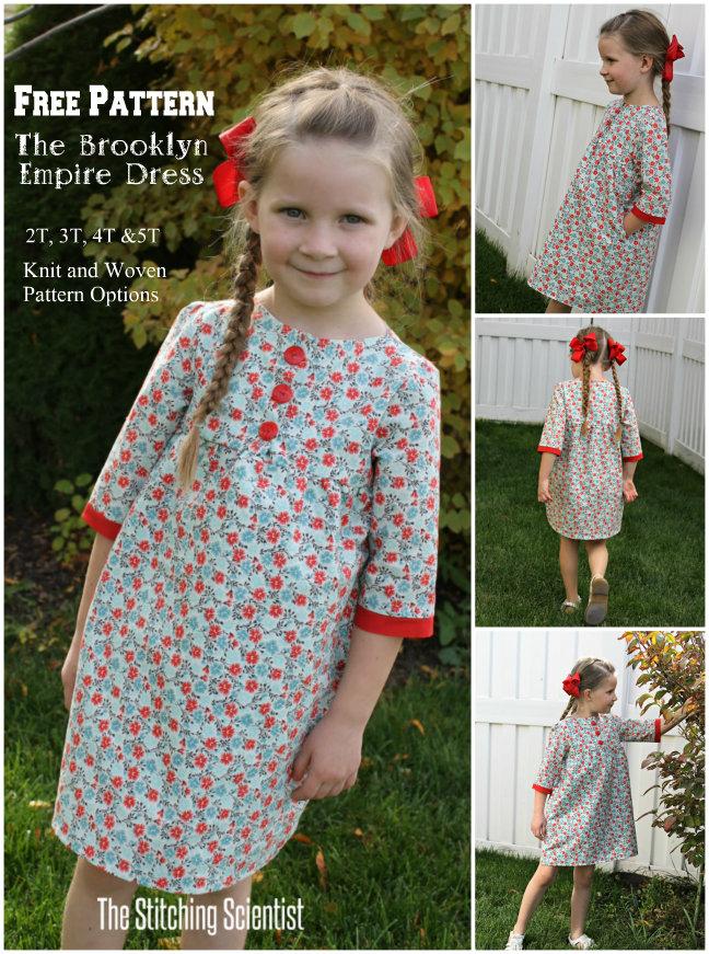 Brooklyn Empire Dress Pattern