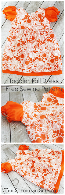 Pattern Review: Puff Sleeve Toddler Dress