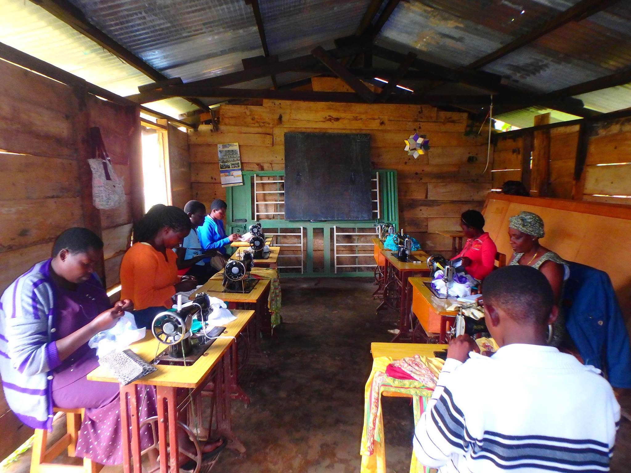 Support a Sewing School in Uganda