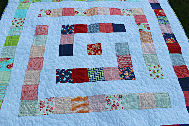 Free Pattern Miss Kate's Maze Quilt Top