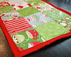 Pattern Review- How to make a Simple Table Runner