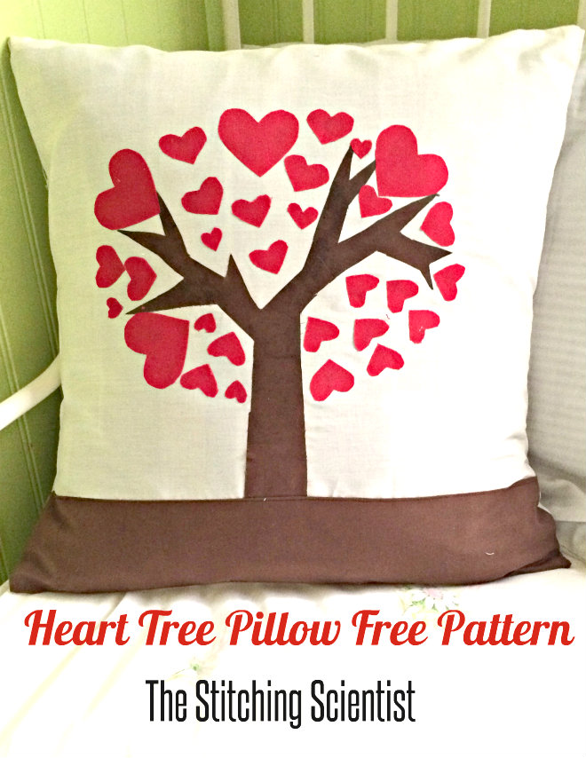Pattern Review: Heart Tree Pillow