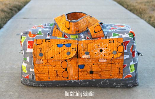 Noodlehead Cargo Duffle Bag Pattern