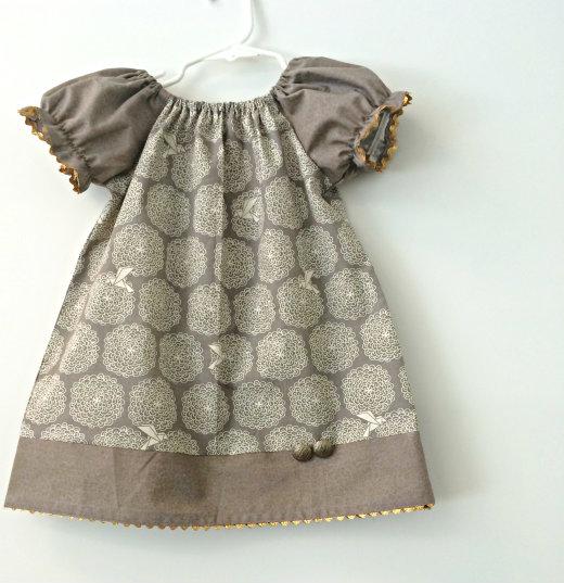 Free Toddler Peasant Dress Pattern