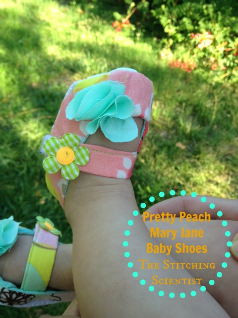 Pattern Review: Baby Mary Jane Shoes