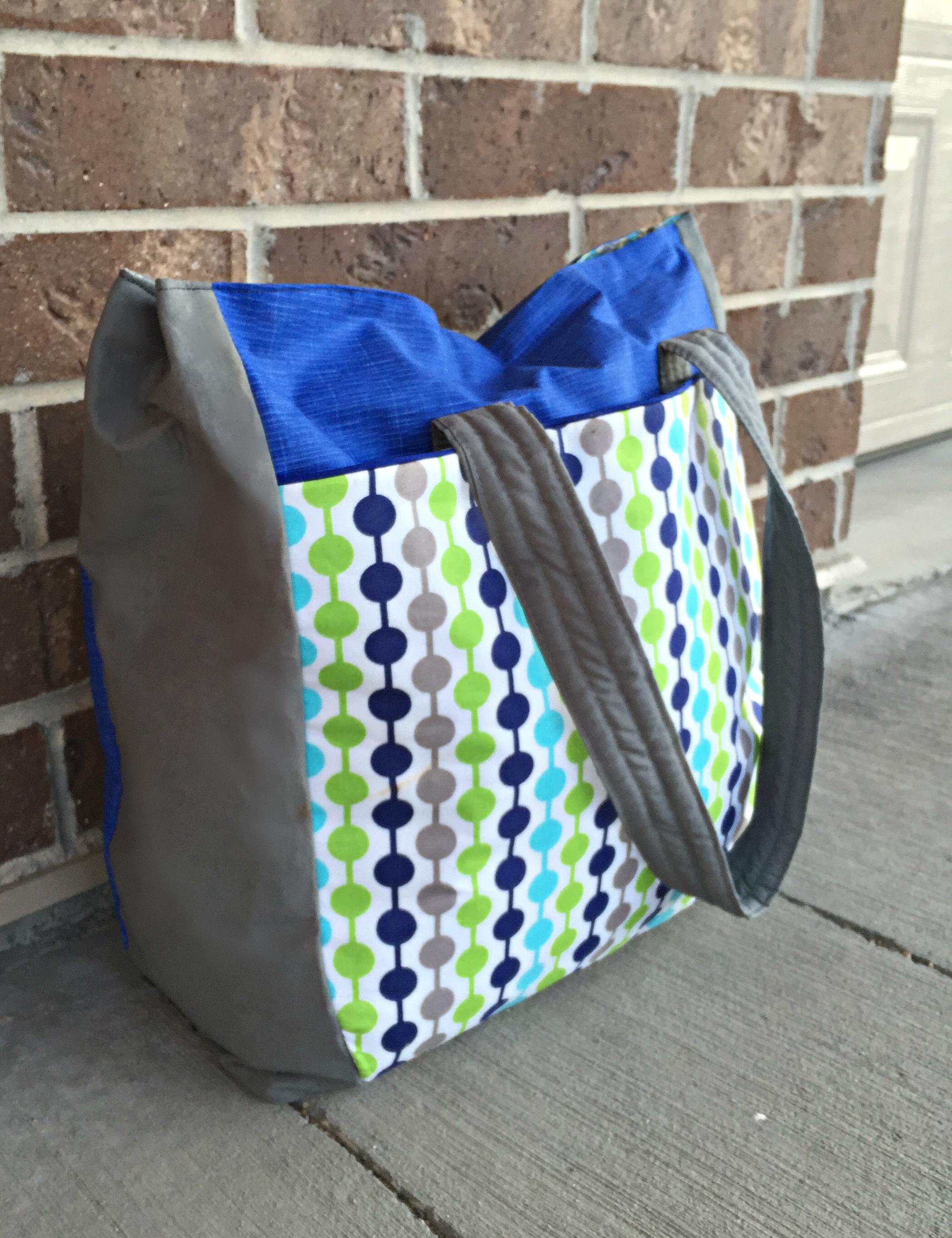 Urban Traveler Tote Bag Pattern