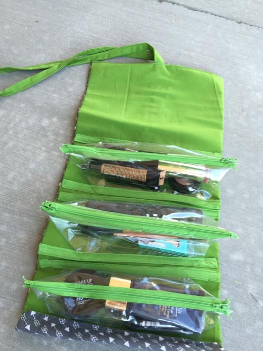 Makeup Roll Up Bag