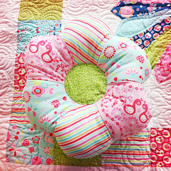 Flower pillow 1
