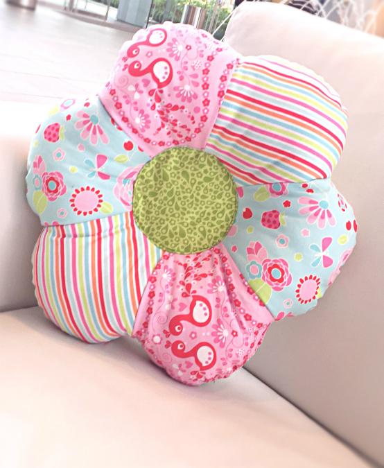 Flower Shaped Pillow