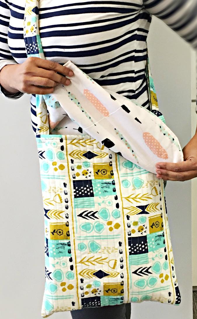 Jumbo Flip Flap Messenger Bag
