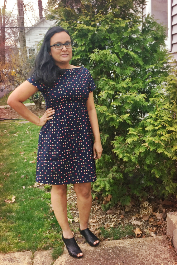 Colette Patterns Peony Dress Review