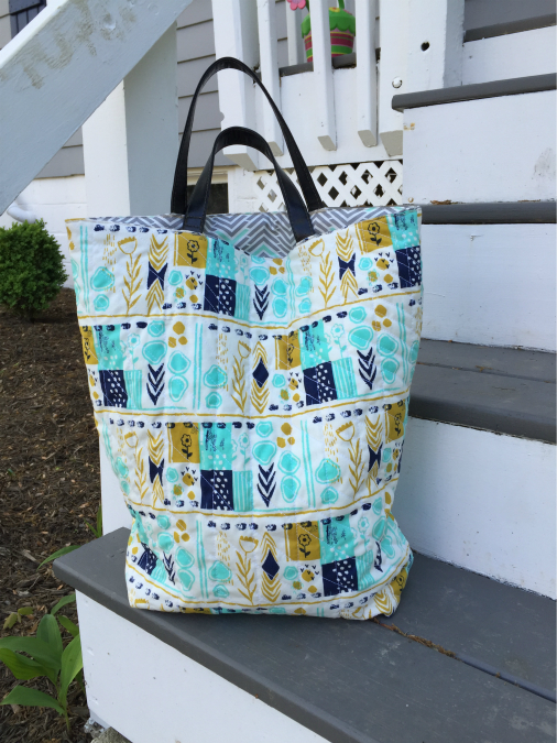 Quilted Tote Tutorial