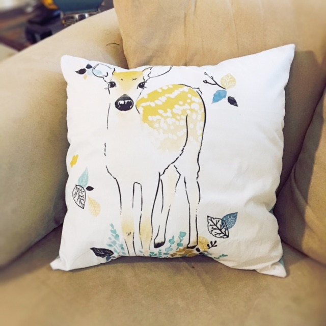 How to sew a pillow cover