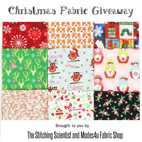 Christmas Fabric Giveaway