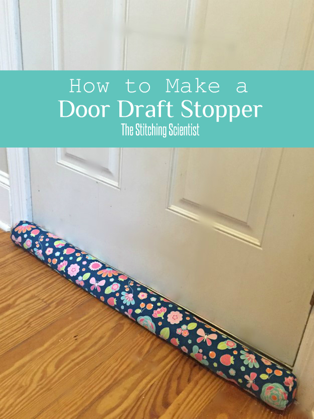 How to make a door draft stopper