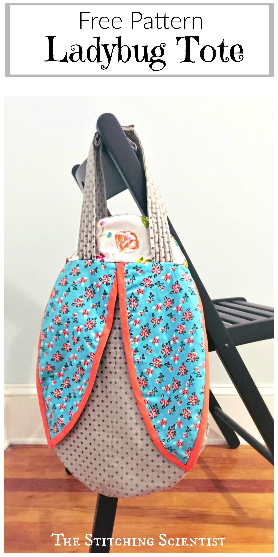 Free Ladybug Tote Bag Pattern