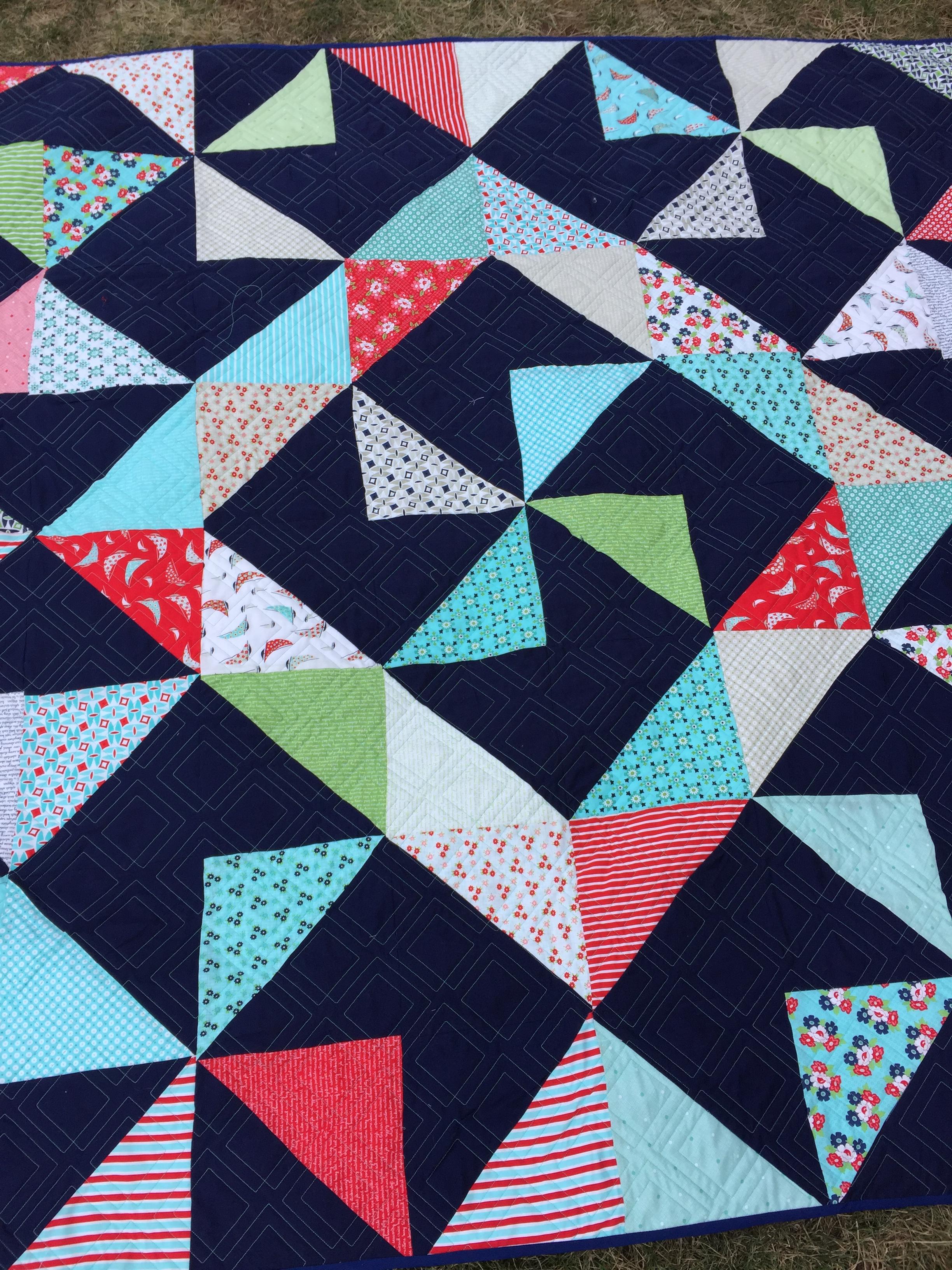 Square Wheel Free Quilt Pattern
