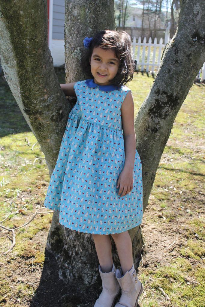 Vintage Lady Dress Pattern