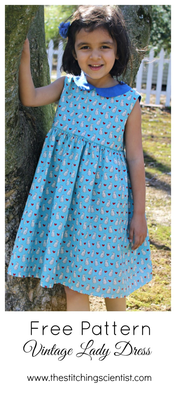 Free Vintage Lady Dress Pattern