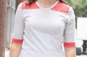 Lace Yoke Shirt