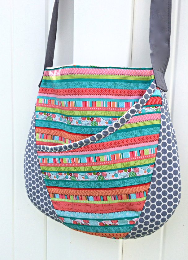 Oval Messenger Bag