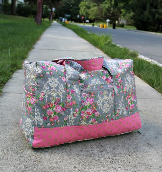 Vera Bradley inspired DIY Carryon Duffel Bag