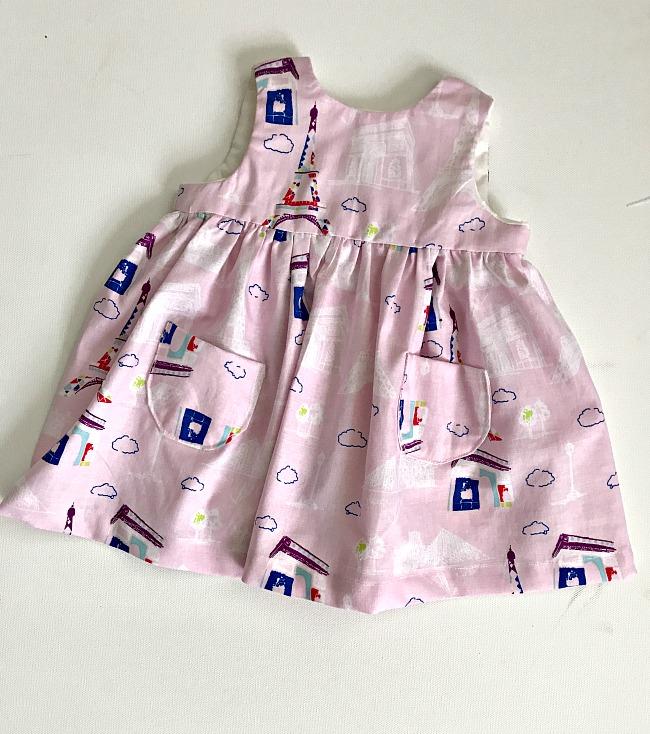 Little Geranium Dress- Free Pattern