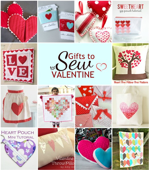 Gifts to Sew for Valentine's Day