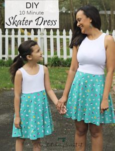 Mother daughter dress