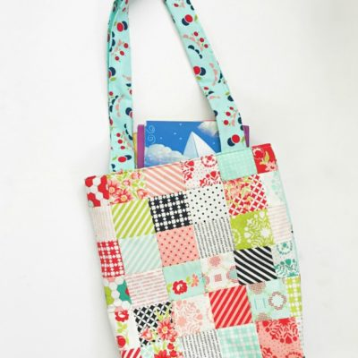 Kids Mini Charm Library Bag