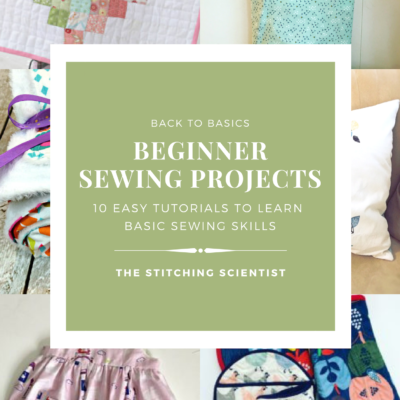 Beginner Sewing Projects eBook