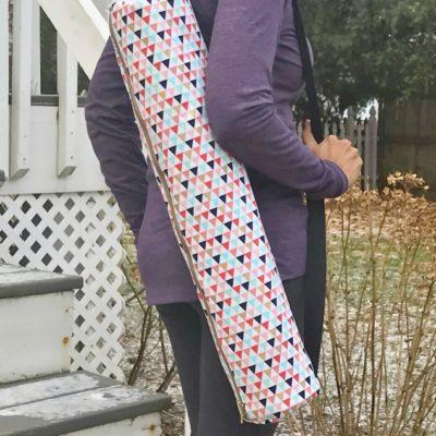 Free Yoga Mat Bag Sewing Pattern