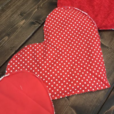 DIY Valentine's Day Table Runner