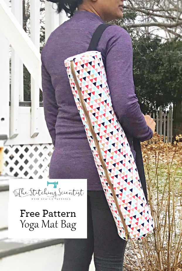 Free Yoga Mat Bag Sewing Pattern The Stitching Scientist