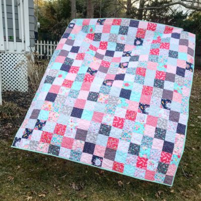 Simple Charm Pack Quilt Pattern
