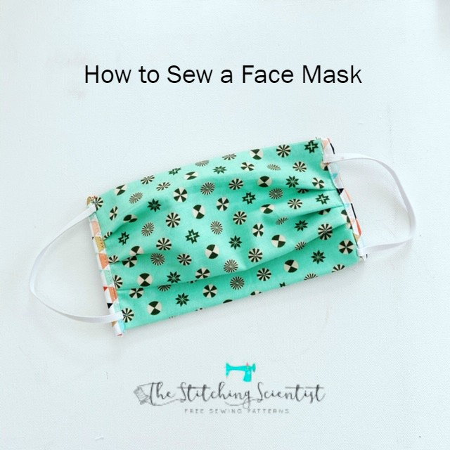 How To Sew A Face Mask The Stitching