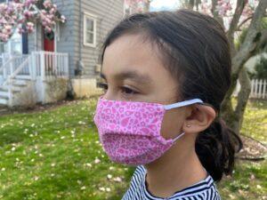 Child size face mask