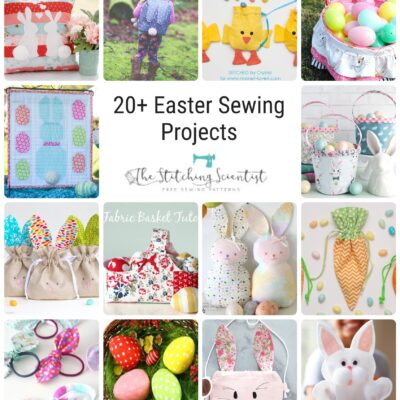 20+ Easter Sewing Projects