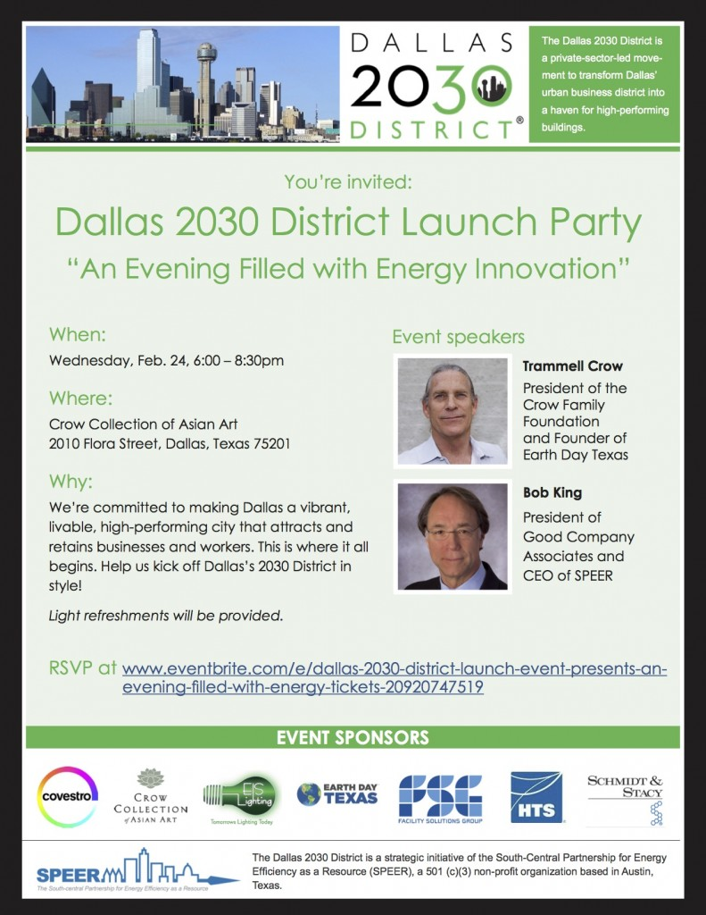 Dallas 2030 District Flyer