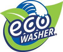 EcoWasher laundry system logo