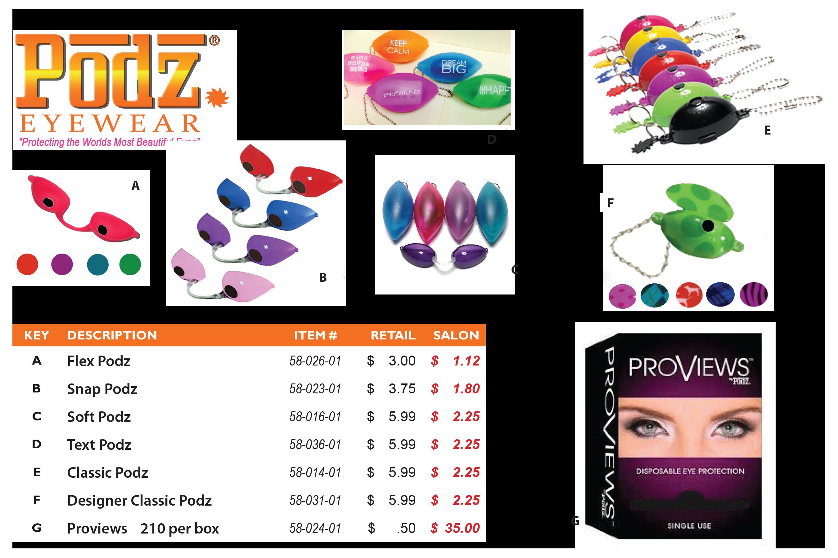 podz eyewear for tanning beds