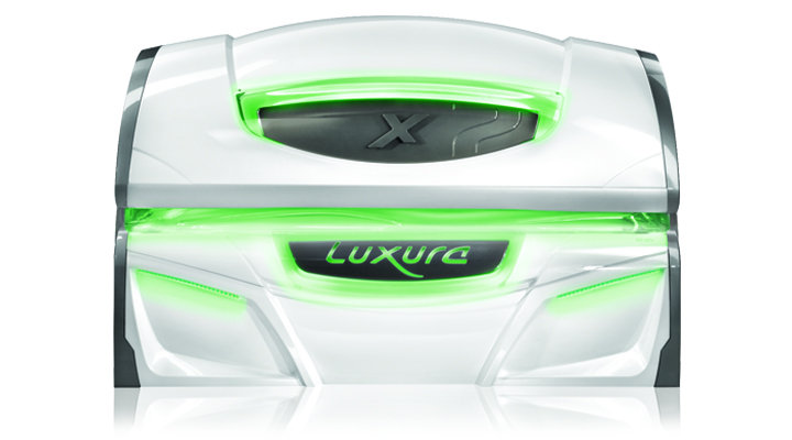 luxura x 7 tanning bed closed